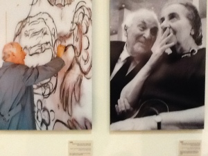golda and chagall