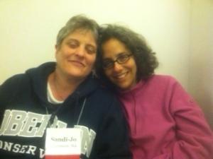 Sandi-Jo and Beth
