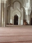 Mosque of King Hassan II, Casablanca (inside)