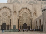 Mosque of King Hassan II, Casablanca (outside)