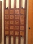 Door in Museum of Wooden Arts, Fez