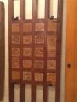 Door in Museum of Wooden Arts, Fez