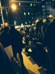 Sit-in on Broadway