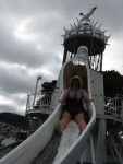 Wellington slide --fun!