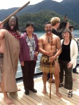 "Sophie , my titi torea partner, and the Maori ""warriors"" who taught us"