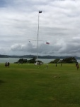 Flagpole on Treaty Grounds