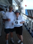 On Deck for a Cause (onboard cancer walkathon)