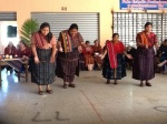 Dance performance by 4 of the Mayan midwives