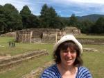 At the Mayan ruins of Iximche