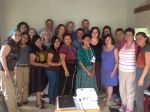 Our group with the women from La Enredadera de Mujeres