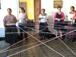 Spider Web exercise with Nuevo Horizonte to represent the connections between us