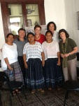 Our small group: Paulina, R. Elliot Baskin, Elinda, Lilach Shafir (AJWS staff), Lucia, Rabbi Nancy Kasten, me
