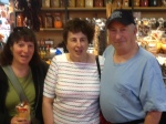 My new friends Yvette and David whom I met in the market. Ask, and I'll tell you a wonderful story about our meeting.