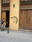 I love the doors and graffiti in Valencia!
