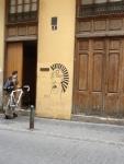 I love the doors and graffiti in Valencia!