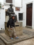 Me and My friend Maimonides in Córdoba
