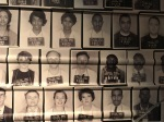 Wall in Atlanta's Center for Civil and Human Rights commemorating the Freedom Riders