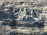 Stone Mountain close-up