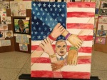 Albany, NY -- children's art honoring Dr. King