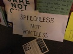 Speechless not voiceless